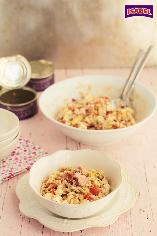 Ensalada de pasta con humus (1)