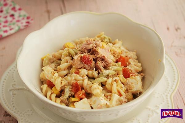Ensalada de pasta con humus (2)