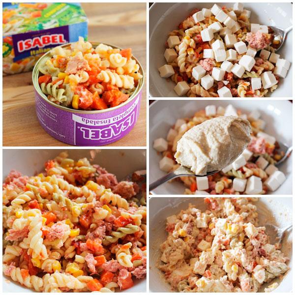 Ensalada-pasta-hummus-pasos