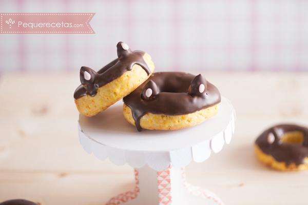 Donuts al horno hechas con calabaza, sanas y sabrosas!