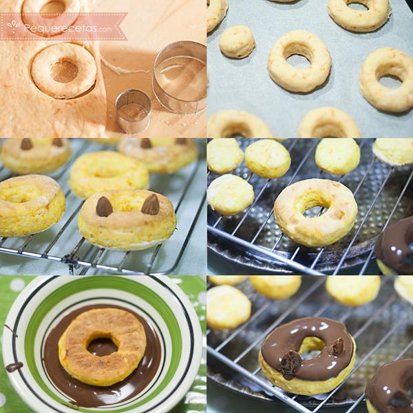 Como preparar donuts de calabaza al horno, sano y exquisito