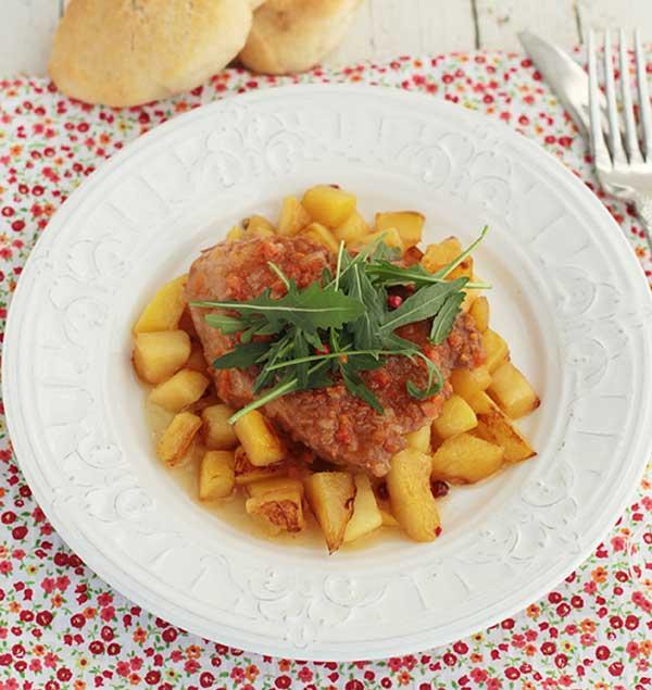 filete de atun en salsa receta
