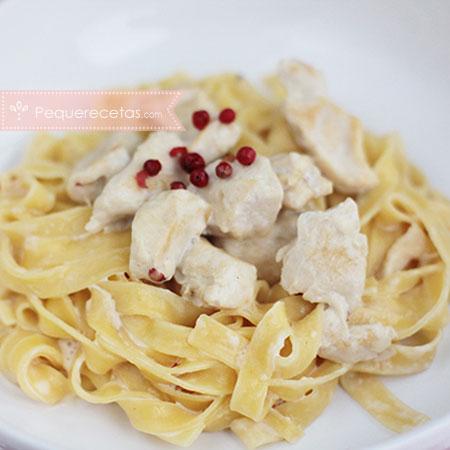 Recetas para el Día del Padre, pasta con pollo
