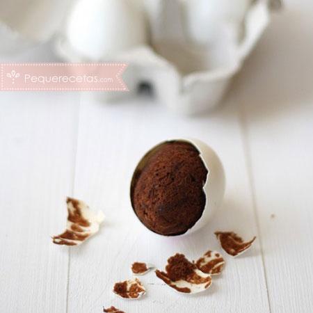 Dulces de Semana Santa: brownies en cáscara de huevo