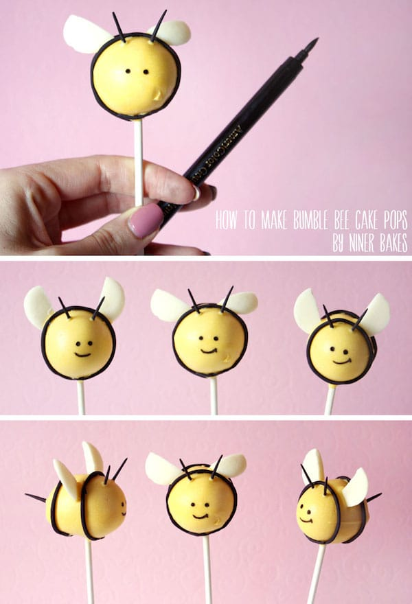 Cake pops originales