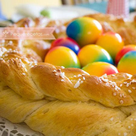 Dulces de Semana Santa: corona de Pascua