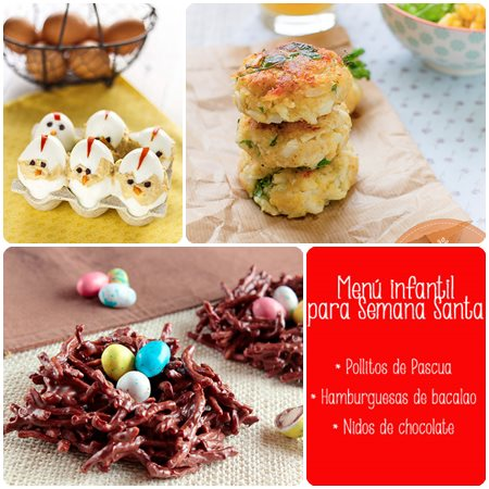Recetas de Semana Santa: menú infantil
