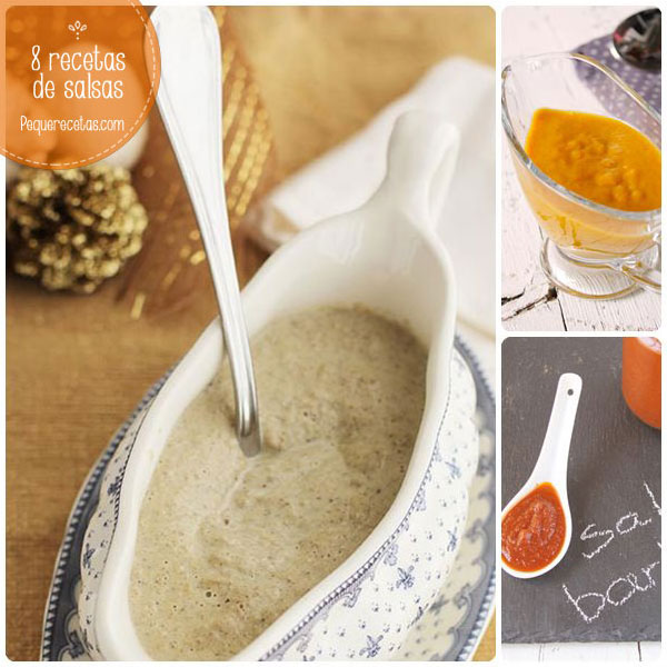 8 recetas de salsas