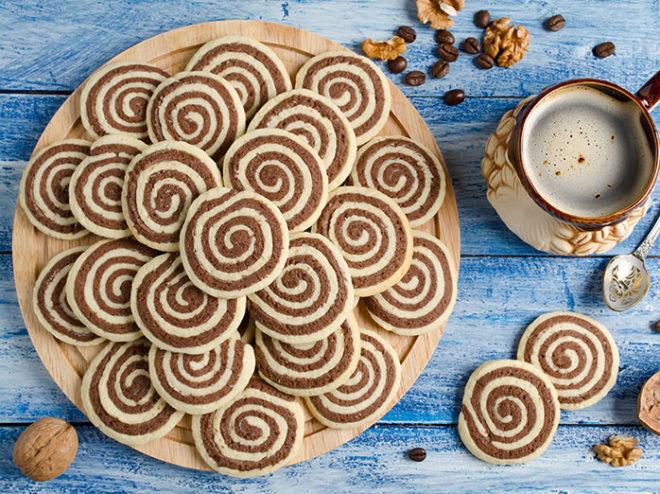 Galletas en espiral