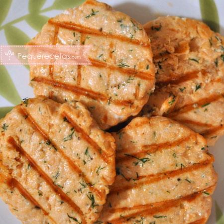 Salmón: receta de hamburguesas de salmón