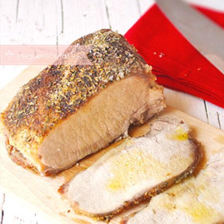 Recetas de lomo: lomo a la sal
