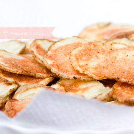 Recetas microondas: patatas fritas