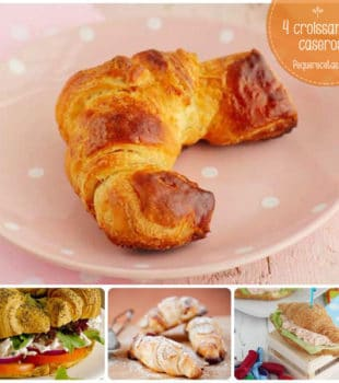 Croissants caseros, recetas paso a paso