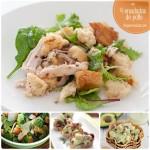 4 recetas de ensalada de pollo