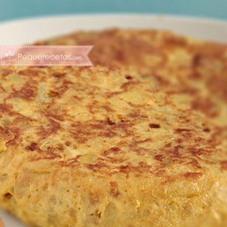Recetas en microondas: tortilla de patatas