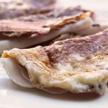 Recetas de pavo: crepes de queso y pavo