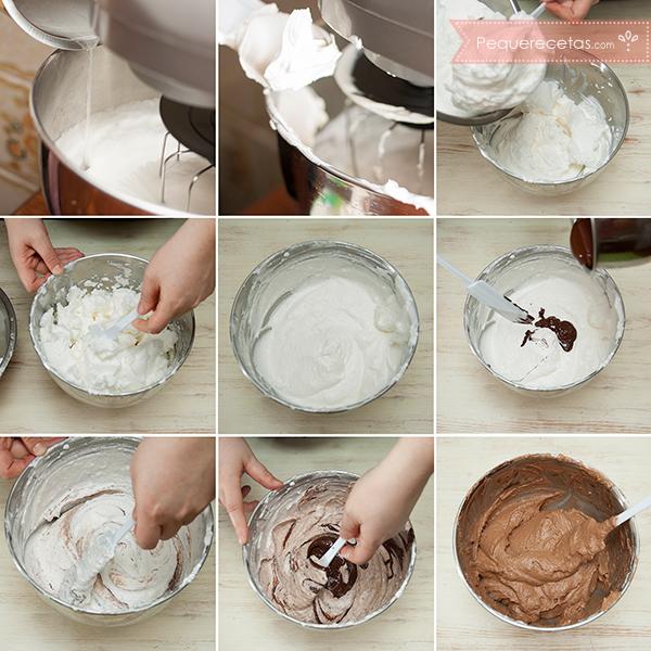 Como preparar mousse de chocolate y mascarpone paso a paso