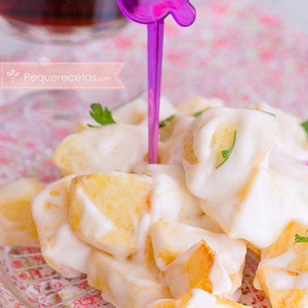 Recetas del Día de la Madre: patatas con lactonesa
