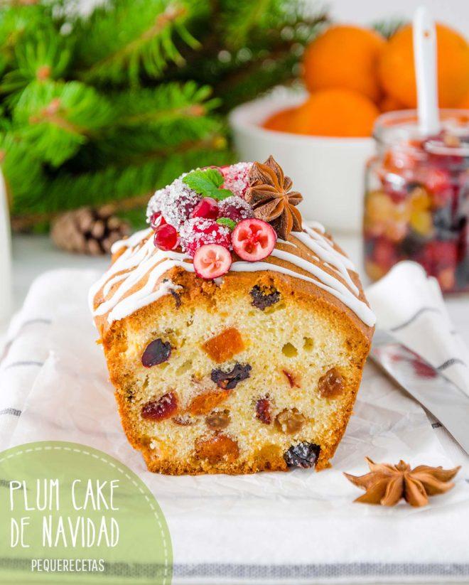 plum cake receta