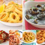 10 recetas con calamares FÁCILES y caseras