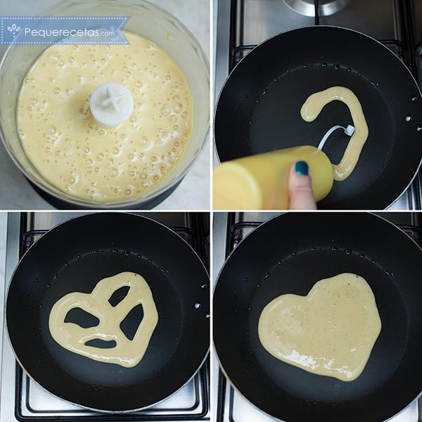 Como preparar tortitas de plátano