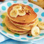 Tortitas de plátano (receta FÁCIL con 2 ingredientes)