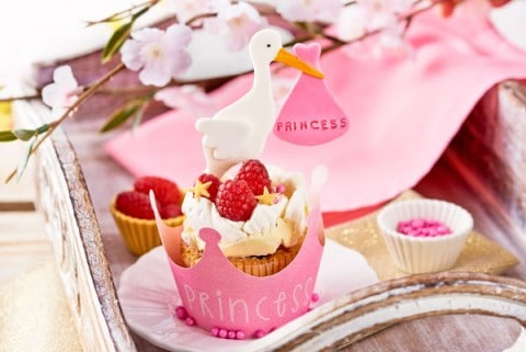 cupcakes para niñas