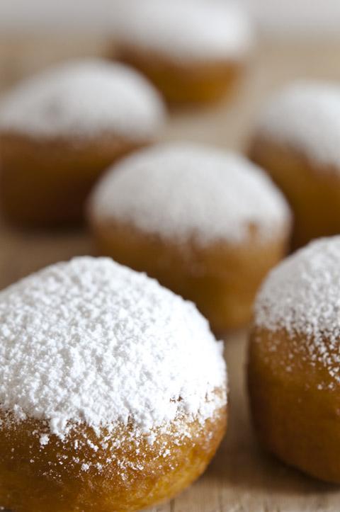 berlinas rellenas de crema pastelera