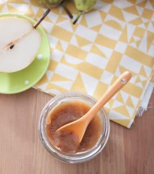 Mermelada de pera con especias, receta casera