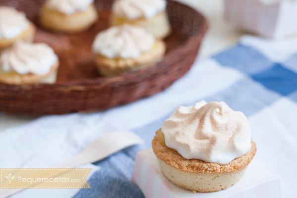 Receta casera de mini tartas de limón