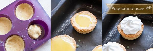 Resultado de imagen para tarta de limon individuales