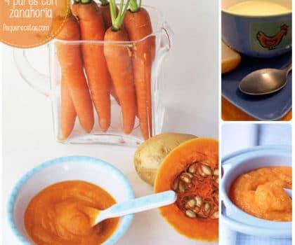 Primeras comidas bebe 6 meses recetas