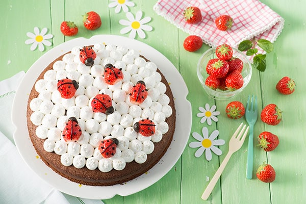 gallery of tarta de fresas para nios