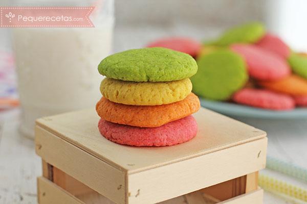 Galletas-gelatina-colores