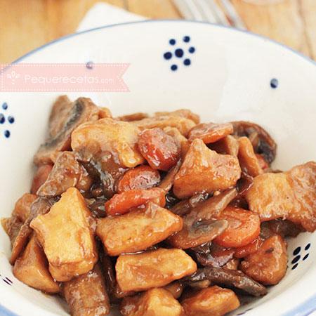 Recetas de pollo en salsa: pollo a la miel