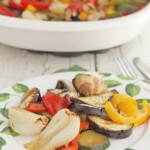 Verduras al horno, una receta sana y fácil