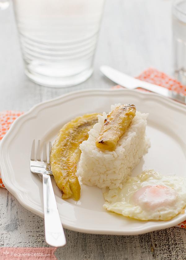 arroz a la cubana ¡para chuparse los dedos!