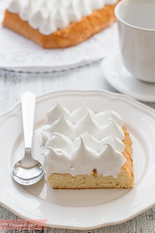 corte tarta tres leches