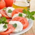 Ensalada caprese, una ensalada italiana imprescindible