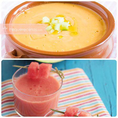 Recetas con frutas: gazpacho