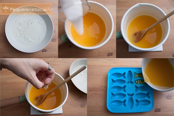 como preparar gominolas caseras paso a paso