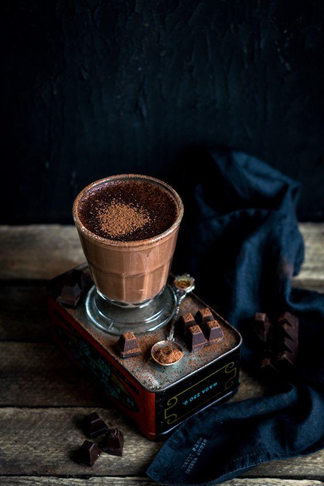 Natillas de chocolate Thermomix