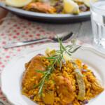 Paella Valenciana, ¡rica y nutritiva!