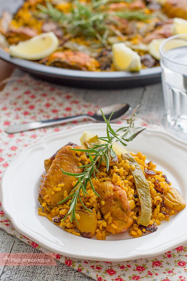paella valenciana, la autentica
