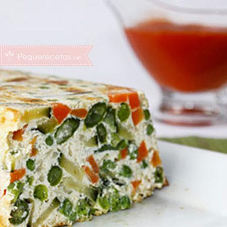 Recetas sanas: pastel de verduras