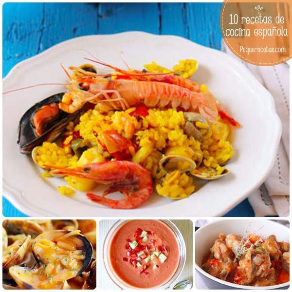 10 recetas de cocina espa ola tradicionales pequerecetas for Resetas para comidas