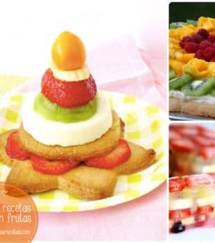 Recetas con frutas fáciles