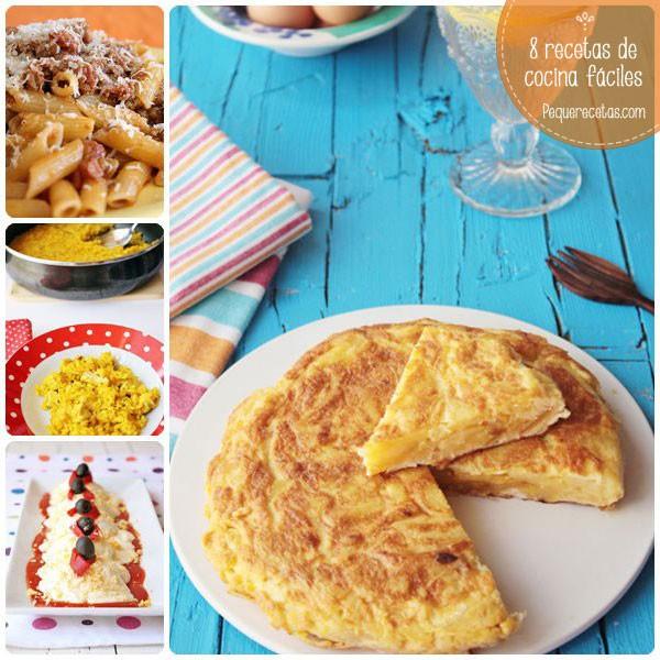 8 Recetas De Cocina Fáciles Para Principiantes