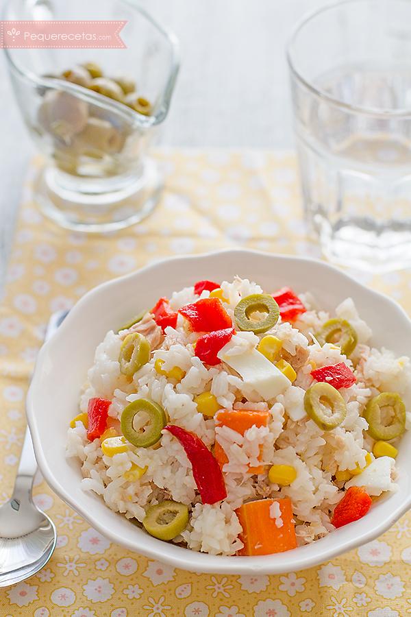 ensalada arroz