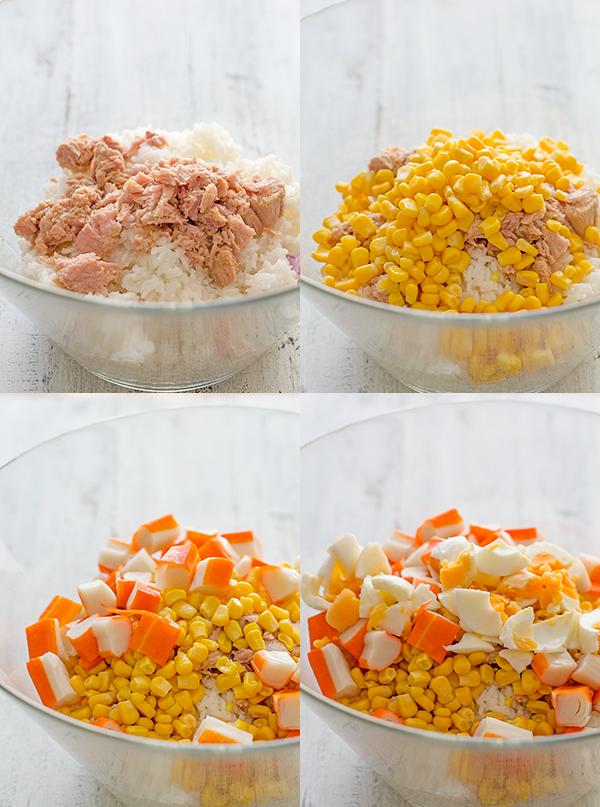 Ensalada de arroz una receta sana y fresquita pequerecetas - Ensalada de arroz light ...